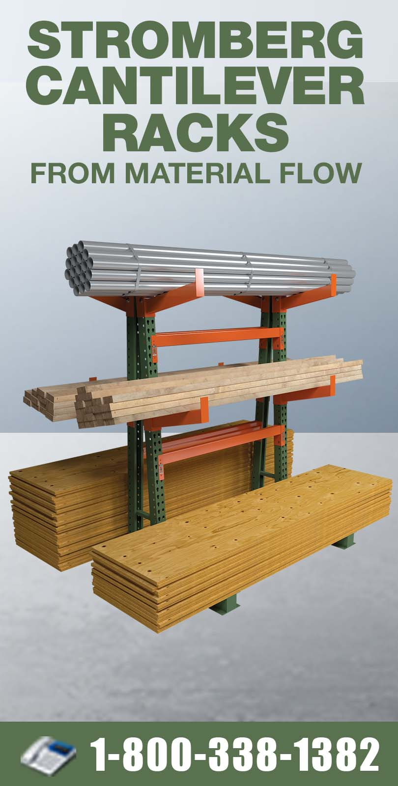 Stromberg Cantilever Racking from Material Flow
