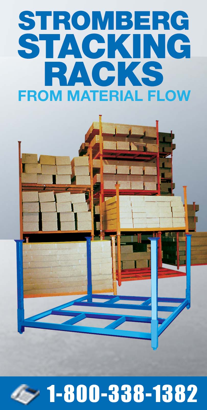 Stromberg Stacking Racks from Material Flow