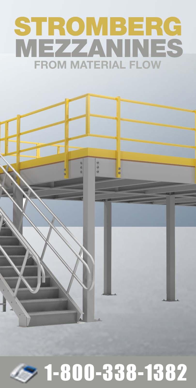 Stromberg Mezzanines from Material Flow