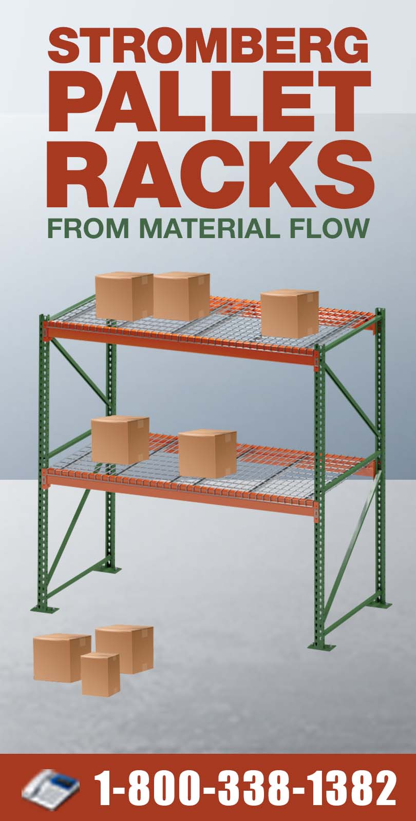 Stromberg Pallet Racking from Material Flow