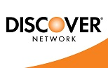 Discover cards are accepted